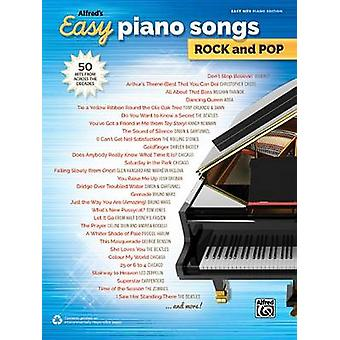 Alfred's Easy Piano Songs -- Rock & Pop  - 50 Hits from Across the Dec