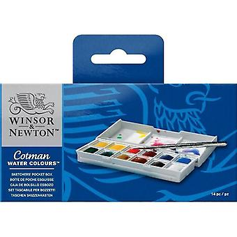 Winsor & Newton Cotman aquarel Sketchers Pocket Box