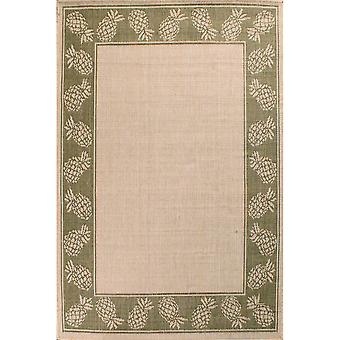 Outdoor Pineapple Rugs In Green By Rugstyle