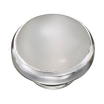 KAMELEON White Cat's Eye Sterling Silver JewelPop KJP563