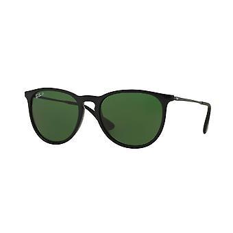 Ray-Ban Erika Classic zwart gepolariseerde zonnebril RB4171-601 / 2P-54