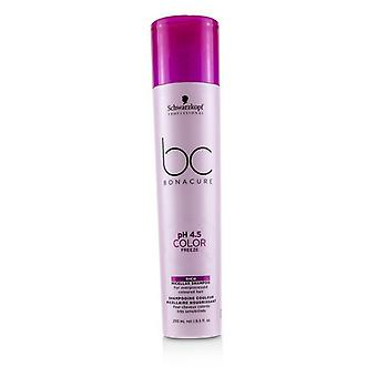 Schwarzkopf BC Bonacure pH 4.5 Color Freeze Rich Micellar Shampoo (For Overprocessed Coloured Hair) 250ml/8.5oz
