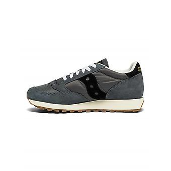 Saucony Grey & Black jazz original vintage sneaker
