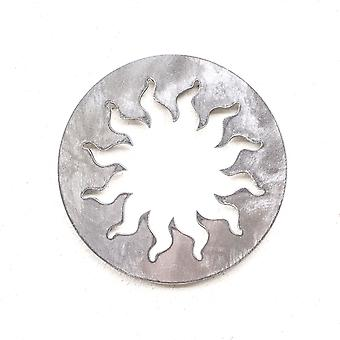 Sun-Metal cut ornament 4x4in