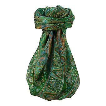 Maulbeere Seide traditionelle Quadratische Schal Zoi Salbei von Pashmina & Seide