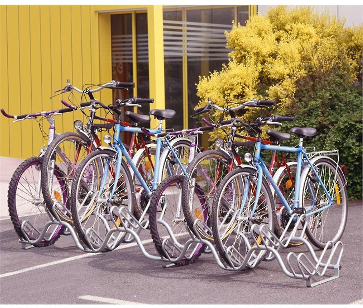 Mottez - Heavy duty fietsenrek (9 fietsen)