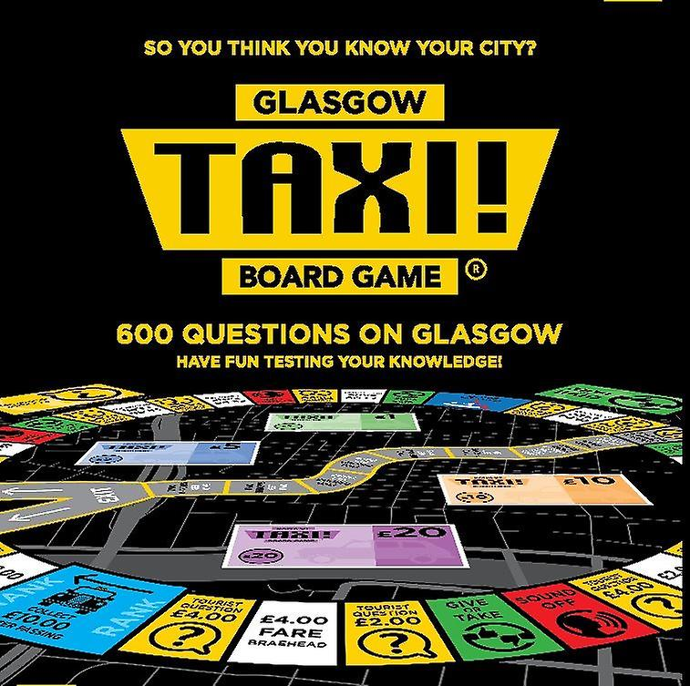 Taxi Board Game Glasgow