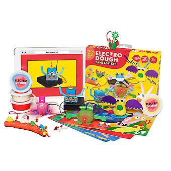 Tech Will Save Us Electro Dough Fantasy Kit | Educational Electronic Science Technology STEM Toy, Gift for Boys, Girls, Kids Ages 4 and up