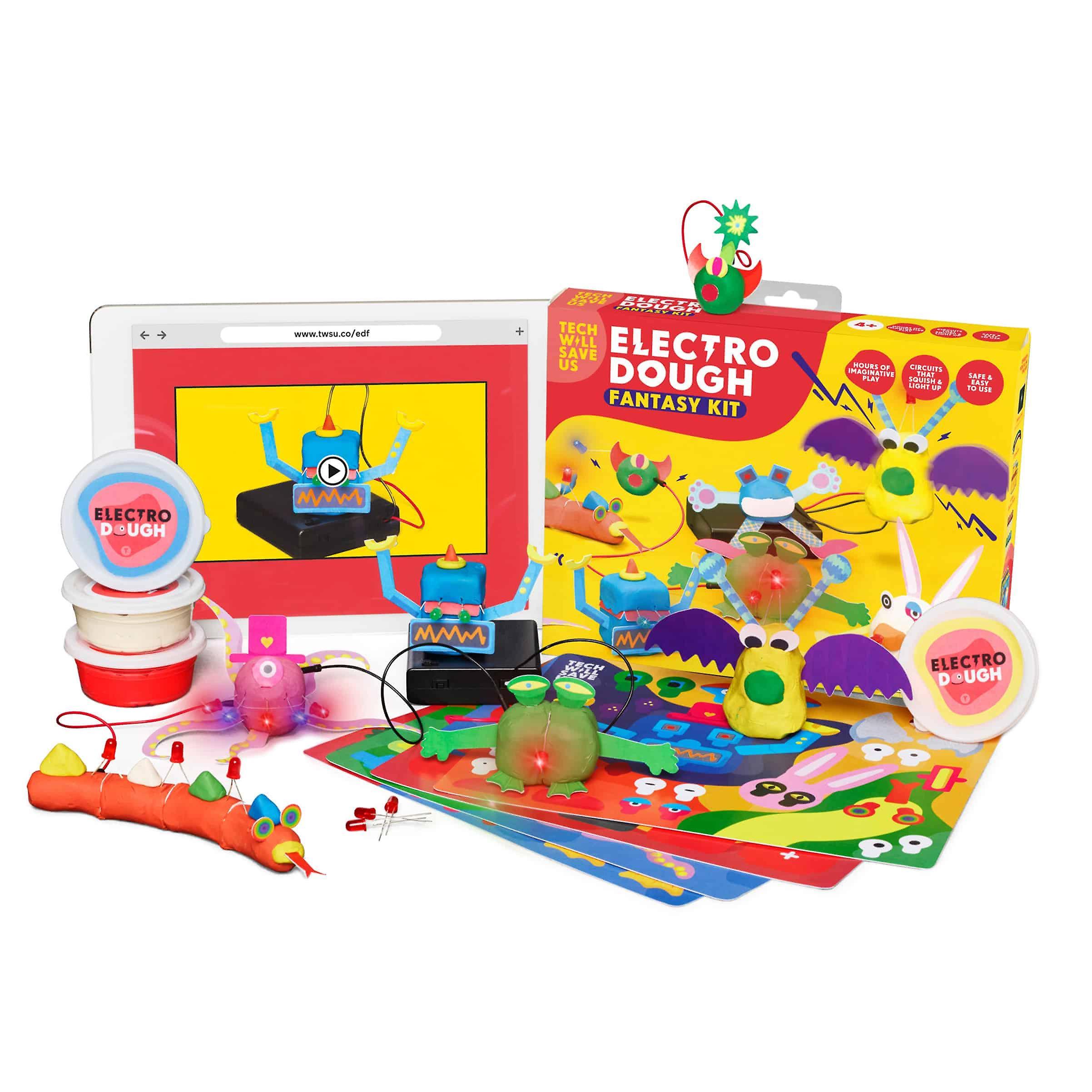 Tech kommer att rädda oss Electro Dough Fantasy kit | Pedagogiska ånga leksak, åldrar 4 och uppåt