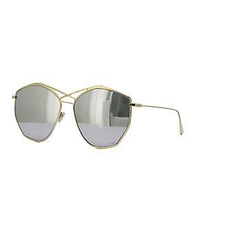 Dior Stellaire 4 J5G/DC Gold/Grey-Silver Mirror Sunglasses