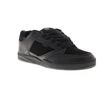 Etnies Cartel  Mens Black Synthetic Lace Up Athletic Skate Shoes
