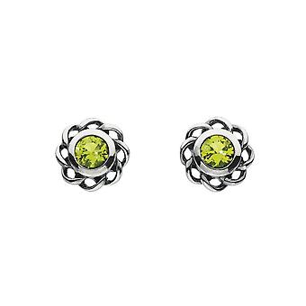 Kit Heath Heritage Heritage Mystic Birthstones August Twist Earrings 3234AUG024