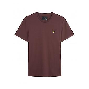 Lyle & Scott Basic Logo Tshirt Berry