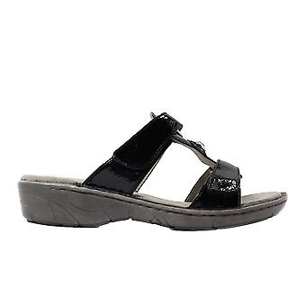 Ara Koriska-lll 57268-51 Black Patent Womens Slip On Mule Sandals
