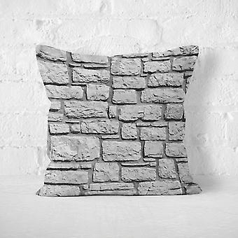 Meesoz Kuddöverdrag - Black Flat Wall Of Rocks