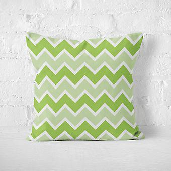 Meesoz Cushion Cover - Modern Zigzags Verde