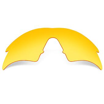 Polarized Replacement Lenses for Oakley M Frame Sweep Frame Yellow Anti-Scratch Anti-Glare UV400 by SeekOptics