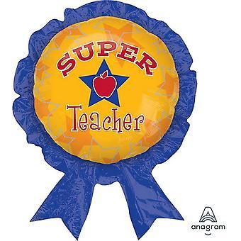 Simon Elvin 18 Inch Thank You Teacher Round Foil Balloon