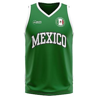 Mexico Home Concept Basketball Shirt - Adult Long Sleeve