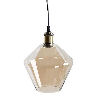 Hill Interiors geräuchertglase Kegel Anhänger Licht