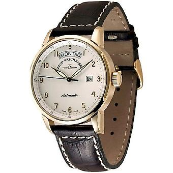 Zeno-Watch Men's Watch Magellano Big 18ct red gold 6069DD-RG-f2