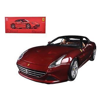 Ferrari California T Closed Top Red Signature Series 1/18 Diecast Model Car par Bburago