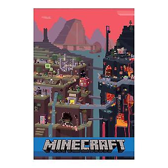 Minecraft, Maxi Poster - Mundo