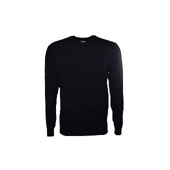 Armani Jeans Mens Navy Blue Crew Neck Jumper