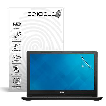 Celicious Vivid invizibil lucios HD Screen protector film compatibil cu Dell Inspiron 15 3567 (touch) [Pack de 2]