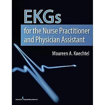EKGs för sjuksköterska läkare och läkare assistent