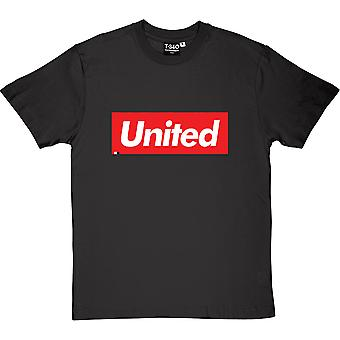 United Are Supreme Charcoal Grey Men's T-Shirt