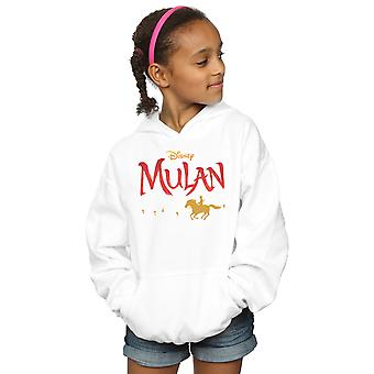 Disney Girls Mulan Movie Logo Hoodie