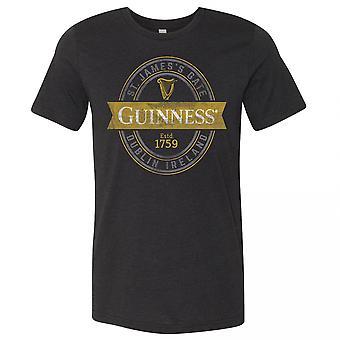 Guinness St. James Gate Zwart T-shirt