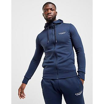 New McKenzie Men's Essential Zip Through Hoodie Navy