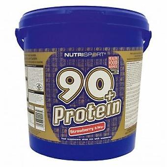 Nutrisport - 90 + białko - Raspberyy - 2,5 Kg