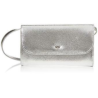 Fritzi aus Preussen Domi - Women Silver Shoulder Bags (Silver) 3x19.5x11 cm (W x H L)