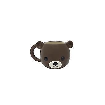 Streamline NYC Brown Bear Mug
