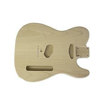 Hosco 2 Piece Alder Unfinished And Unsanded Telecaster Replacement Body