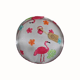 Dexam Summer Garden Flamingo Food Cover