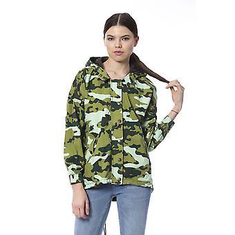 Silvian Heach Vrouwen Militaire Groene Jas