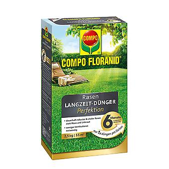 COMPO Floranid® lawn long-term fertilizer perfection, 2.5 kg