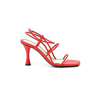 Proenza Schouler Ps34051a11003304 Women's Red Leather Sandals
