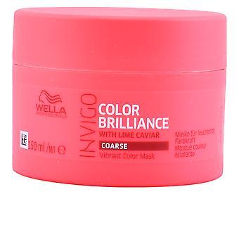 Wella Invigo couleur brillance masque cheveux grossiers 500 ml unisexe