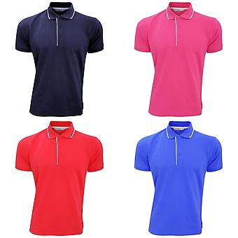 Kustom Kit Mens Essential Short Sleeve Polo Shirt