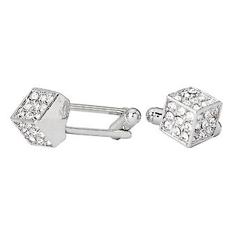 Iced Out Hip Hip Cufflinks - Dice Bling