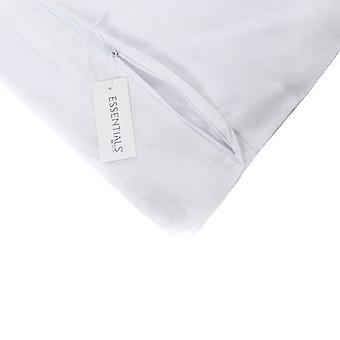 Junior Anti-Allergie Protektor Bettdecke Quilt & Kissen Reißverschluss Wasser Fleck beständig