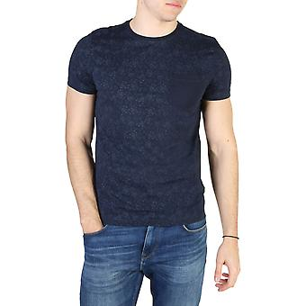 Tommy Hilfiger Original Men Spring/Summer T-Shirt - Blue Color 49289