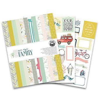 Piatek13 - Paper pad We are family P13-FAM-10 6x8