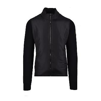 Belstaff Abbott Zip Cardigan Black
