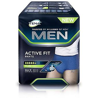 Tena Men's Incontinence Brief Size M 9 uds